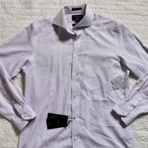 Black Brown men's fitted Button down shirt